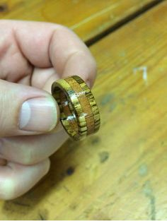 Jason Moroney's Instructions on How to Make a Wooden Ring