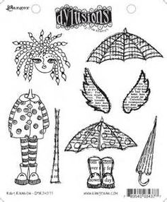 Dyan Reaveley's Dylusions Cling Stamp Collection- - - Yahoo Image Search Results