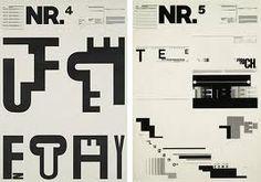 Typography: wolfgang weingart