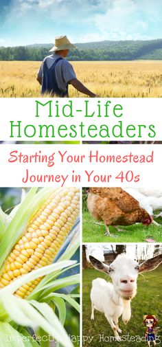 Mid-Life Homesteaders - starting your homestead journey in your 40s or later. Is homesteading just for the young?