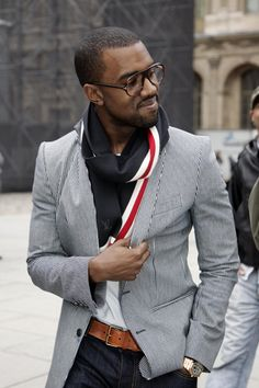 Mr. Kanye West. He's obnoxious but he has style!