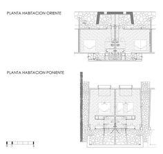 Hotel Tierra Atacama / Matias Gonzalez + Rodrigo Searle,Plantas / Habitaciones