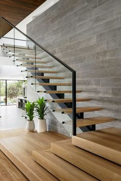 📣 97 Most Popular Modern House Stairs Design Models 52 #modernhouse #stairs #housedesign