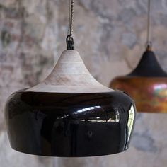 Light up any room with this Coco ceiling lamp, the glossy style and distinguished finish makes it a versatile lighting option in any room Copper Ceiling, Ceiling Lamp, Ceiling Lights, Pendant Lamp, Pendant Lighting, Dining Table Lighting, Suspension Vintage, Lights Fantastic, Suspension Design