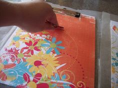 Ameroonie Designs: Paper Covered Clipboard Tutorial