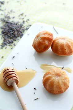 Lavender honey cakelettes and why you shouldn't cry over crystallized honey | Kitchen Heals Soul