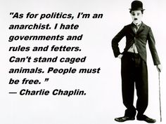 Anarchist Kid and Charlie Chaplin : Anarchism