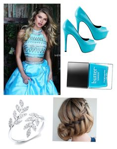 """Untitled #110"" by ravekait ❤ liked on Polyvore featuring TaylorSays, Sherri Hill and Butter London"