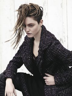 I want to try this styling with my hair! Temp dress! Heart Lands autumn 2013 collection by Aveda.