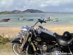 Road King in paradise.