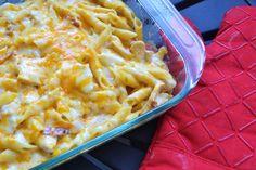 170 chicken bacon ranch pasta bake