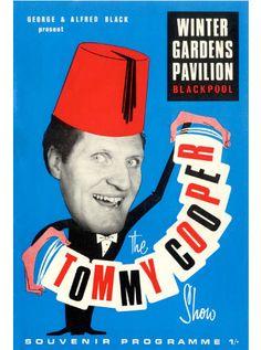 The Tommy Cooper Show, Winter Gardens Pavilion, Blackpool. Tommy Cooper, Blackpool England, Cilla Black, Robin Redbreast, Morecambe, British Comedy, Broken Leg, Souvenir, Program Management