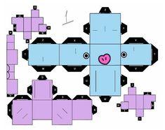 Paper Toys, Paper Crafts, Bts Tickets, Paper Doll Template, Kpop Diy, Bts Birthdays, Pop Stickers, Anime Crafts, Ideias Diy