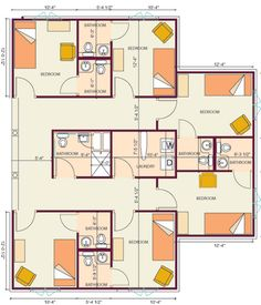 Guest House Floor Plans Hotel Design Retreat Pinterest