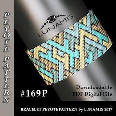 bracelet peyote pattern bracelet design even count stitch