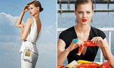 Americana Manhasset goes to the shore with Lindsey Wixson to shoot Holiday 2013