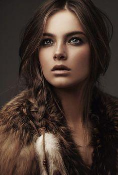 Красота, вдохновленная природой - Артемида - прекрасная охотница...