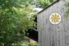 When Design Sponge announced a contest for DIY projects using Scotch Blue Tape, James and I figured that this project would be a perfect submission. Barn Signs, Garden Art, Garden Ideas, Garden Doors, Farms Living, Barn Quilts, Diy Signs, House And Home Magazine, Traditional Design