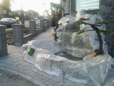 Custom Rock Fountain