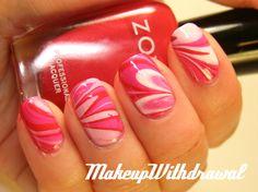 Makeup Withdrawal: Zoya Valentine Mani
