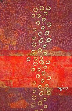 Abstract - Jane Dunnewold - a master at dyeing and printing fabric.