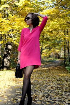 Stand Up Fashion: pink dress