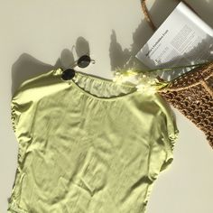 305aeb2449b Green Summer Unique Blouse, Women's Top With Wide Neck And Puff Sleeve,  Women's Plus Size Fashion