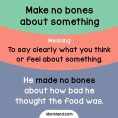 Make no bones about it! -         Repinned by Chesapeake College Adult Ed. We offer free classes on the Eastern Shore of MD to help you earn your GED - H.S. Diploma or Learn English (ESL) .   For GED classes contact Danielle Thomas 410-829-6043 dthomas@chesapeke.edu  For ESL classes contact Karen Luceti - 410-443-1163  Kluceti@chesapeake.edu .  www.chesapeake.edu