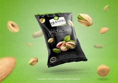 Quentin Nuts Brand Packaging on Behance