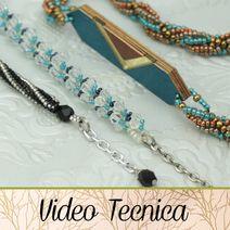 come terminare una spirale di perline Videos, Personalized Items, Bijoux, Bead, Video Clip