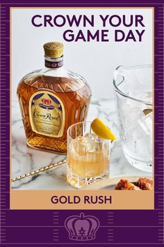 Every game day calls for wings. Every plate of wings needs a cocktail. Get game day ready with a Gold Rush. Add 1.5 oz Crown Royal, .75 oz honey syrup and .75 oz lemon juice to a shaker with ice. Shake and strain into an ice-filed rocks glass. Top with a dash of bitters and garnish with a lemon twist. Dice Games, Fun Games, Arcade Games, Duel Game, Arcade Game Console, Instant Pot, Brain Teaser Games, Brain Games, Pots
