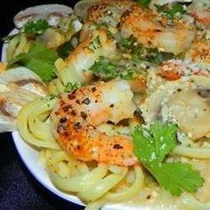 Garlic Shrimp Linguine Recipe - Allrecipes.com