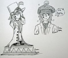 Vincent References by XadoDragon.deviantart.com. @warrior_cat this is both drawings of Vincent for you! I hope you like them!!! :)