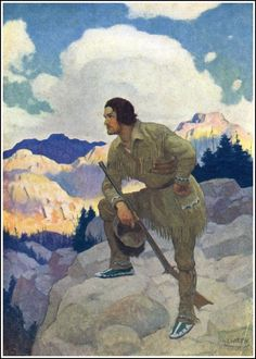 by NC Wyeth from The Oregon Trail