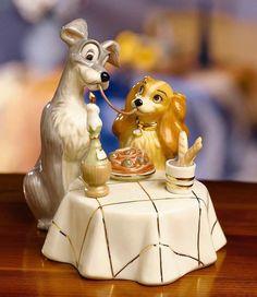 Lady And The Tramp Wedding Disney Cake Topper Figurine Lenox