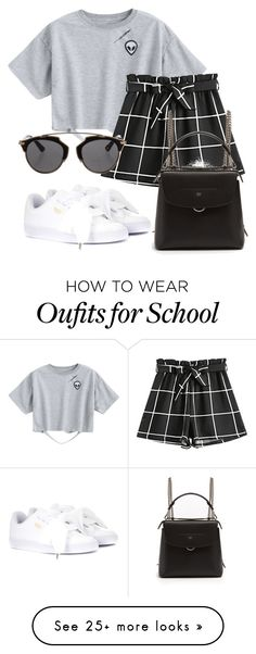 """Untitled #321"" by mafer-gonzalez-miranda on Polyvore featuring Fendi, Puma and Christian Dior"