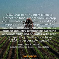 The Center for Food Safety makes an appeal to USDA a year after GMO wheat found in Oregon: food safety roundup. More here: http://www.oregonlive.com/pacific-northwest-news/index.ssf/2014/05/critics_appeal_to_usda_for_cra.html #GMOs #Roundup #Wheat #Oregon