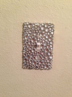 DIY bedazzled light switch
