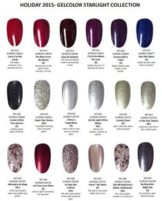 OPI Starlight Collection Swatches (2015)