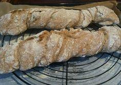 Gyökérkenyér /dagasztás nélkül/ Garlic Bread, Street Food