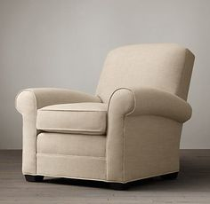 Chairs   Restoration Hardware Lowell Upholstered Club Chair $1395 - $1995