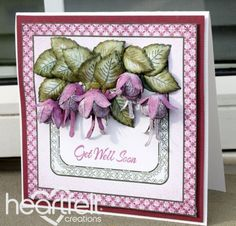 Heartfelt Creations | Get Well Soon Fuchsia