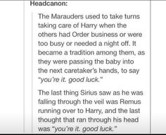 The Marauders Taking Care of Harry Potter Harry Potter Love, Harry Potter Fandom, Harry Potter Universal, Harry Potter Memes, Potter Facts, Harry Potter Head Canon, Harry Potter Imagines, Ravenclaw, Fandoms