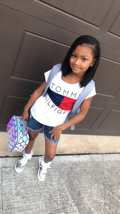 Ideas Hairstyles For Girls Black Back To School On Stylevore- black hairstyles ideas black hairstyles videos Cute Baby Girl, Cute Little Girls, Cute Babies, Little Girl Swag, Cute Hairstyles For Kids, Black Girls Hairstyles, Crazy Hairstyles, Hairstyles Videos, School Hairstyles