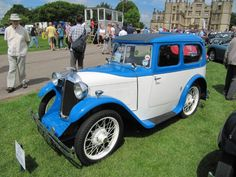 Austin 7 Swallow 1932 at Sherborne Castle Classic Car Show 2014