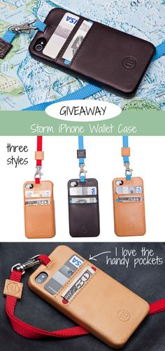 Storm iPhone Wallet Case. This contest has expired. #Giveaway #Contest