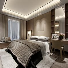 Classic Home Decor Themes That Are Always In Style Master Bedroom Interior, Home Decor Bedroom, Modern Bedroom, Classic Home Decor, Classic House, Apartment Design, Apartment Living, Hotel Room Design, Round Beds