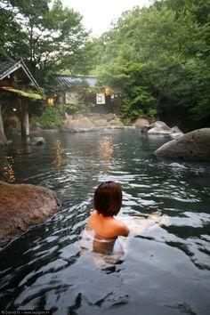 Onsen à Kurokawa - ryokan Yamamizuki