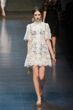 Dolce & Gabbana Autumn/Winter 2013 | Fashion, Trends, Beauty Tips & Celebrity Style Magazine | ELLE UK
