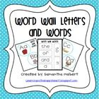 This word wall set has everything you need to create a new word wall in your classroom. It includes 26 letter cards with corresponding beginning so...